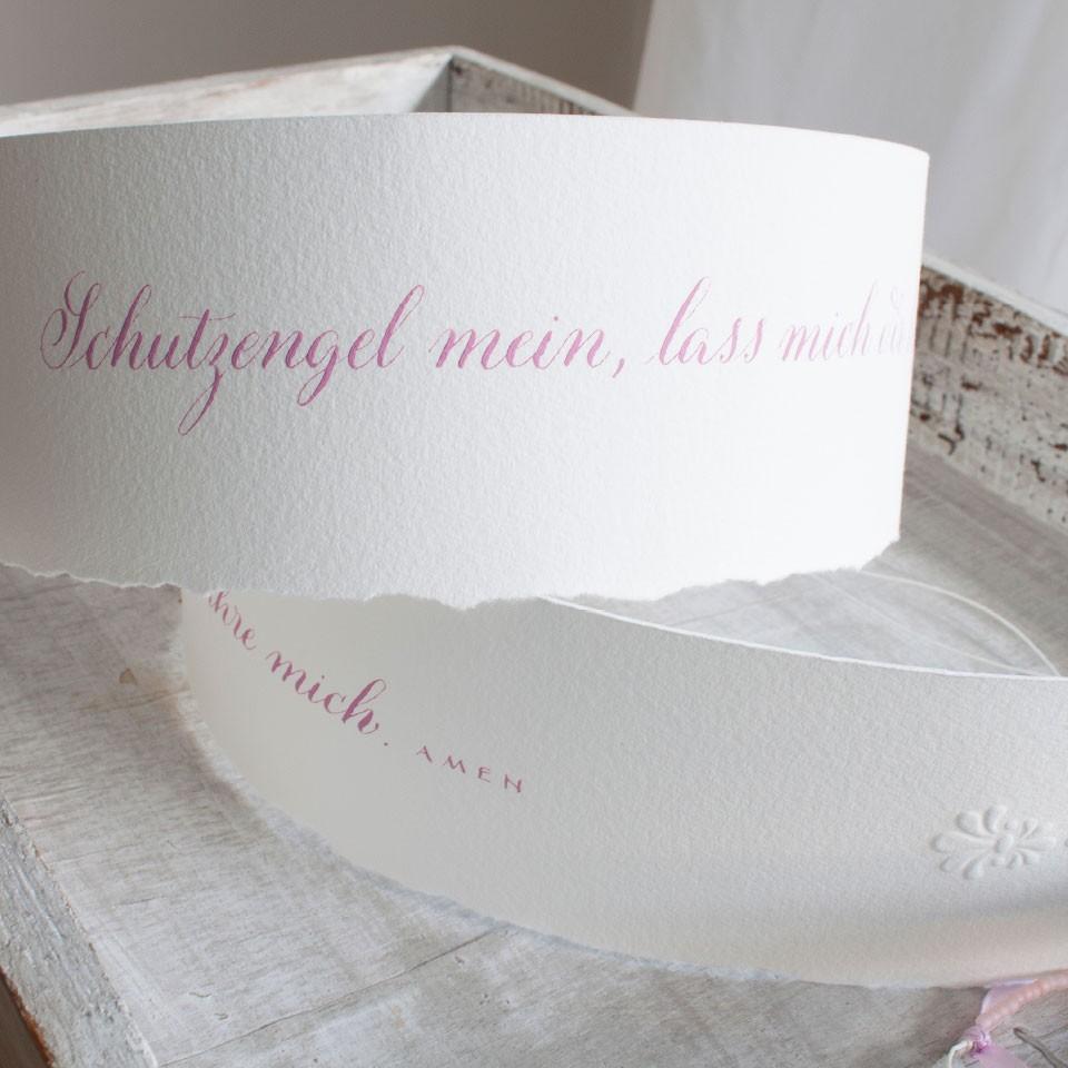 """Band """"Schutzengel"""" rosa"""