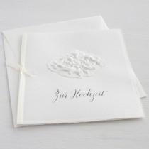 """Karte """"Zur Hochzeit"""" mit Granatapfel-Ornament"""