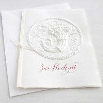 """Karte """"Zur Hochzeit"""" mit Füllhorn"""